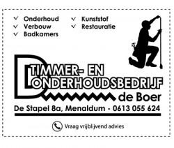Timmer- en Onderhoudsbedrijf de Boer